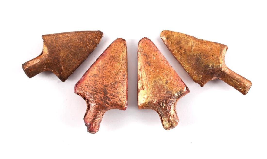 Anaconda Copper Mining Company Cast Arrowheads