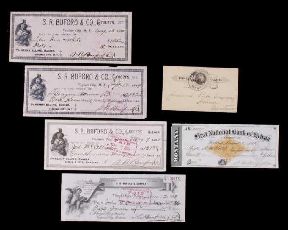Collection of Early Montana Ephemera