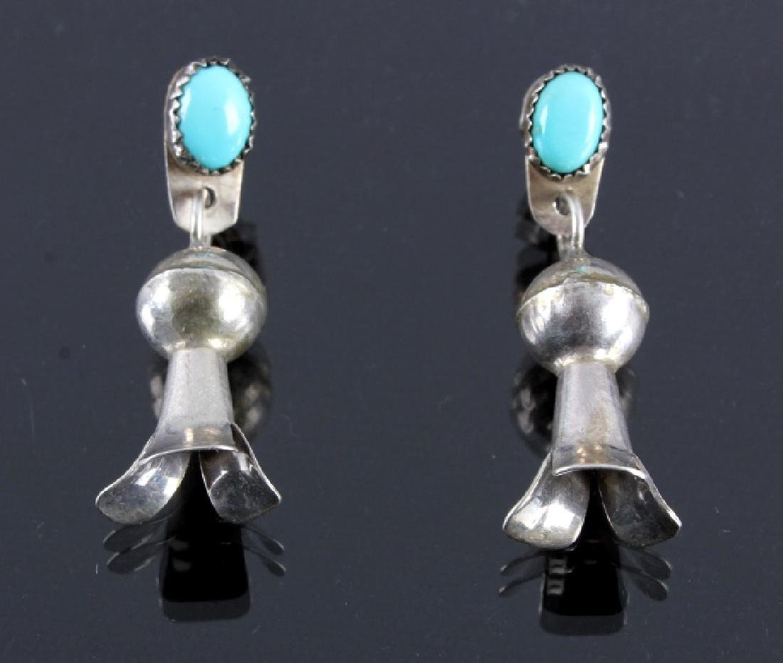 Navajo Sterling Silver Earring Collection - 2