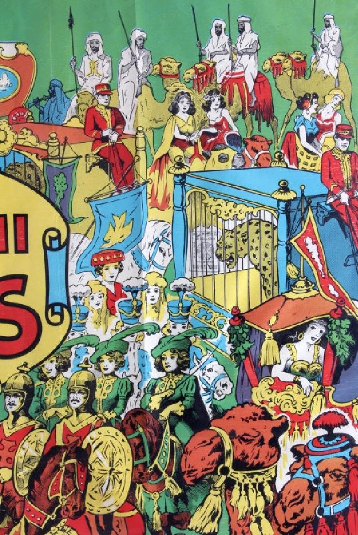King Bros. & Cristiani Circus Framed Poster 1950- - 4