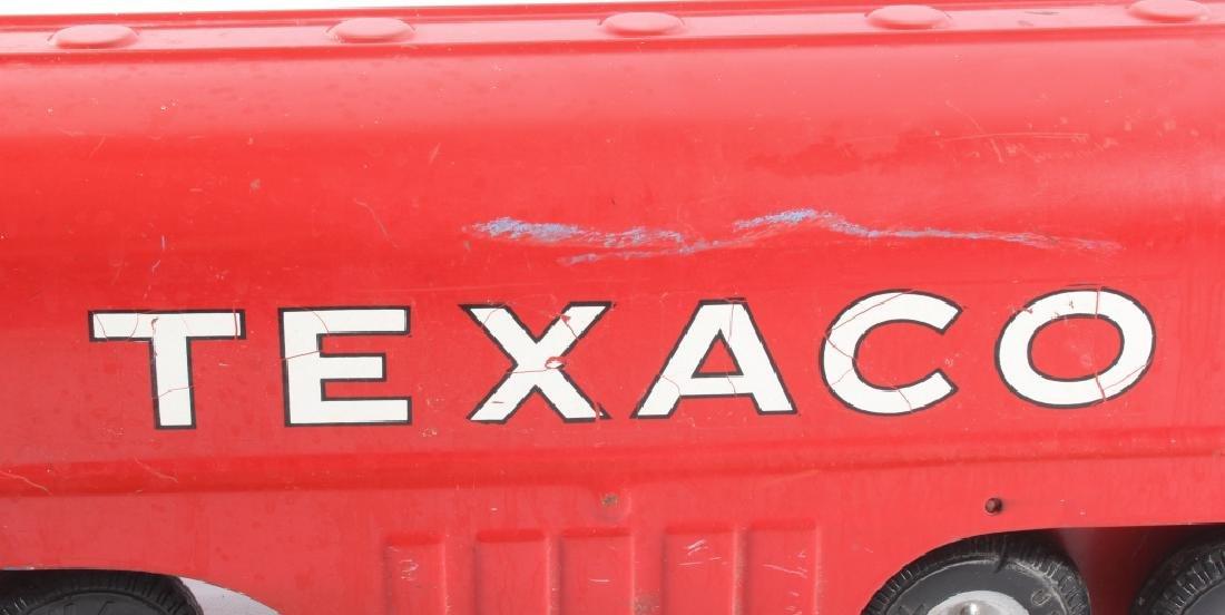 Buddy L Texaco Tanker Stamped Steel Toy Truck - 10