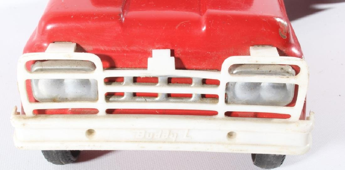 Buddy L Texaco Tanker Stamped Steel Toy Truck - 11