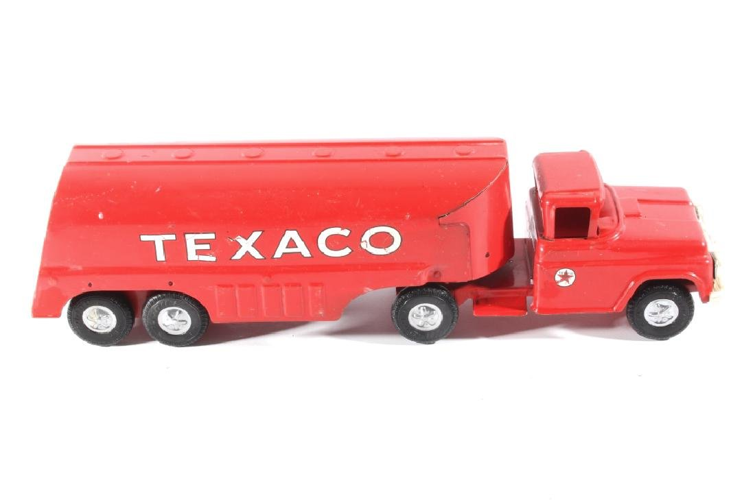 Buddy L Texaco Tanker Stamped Steel Toy Truck
