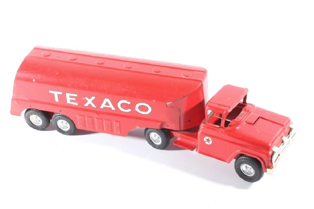 Buddy L Texaco Tanker Stamped Steel Toy Truck - 2