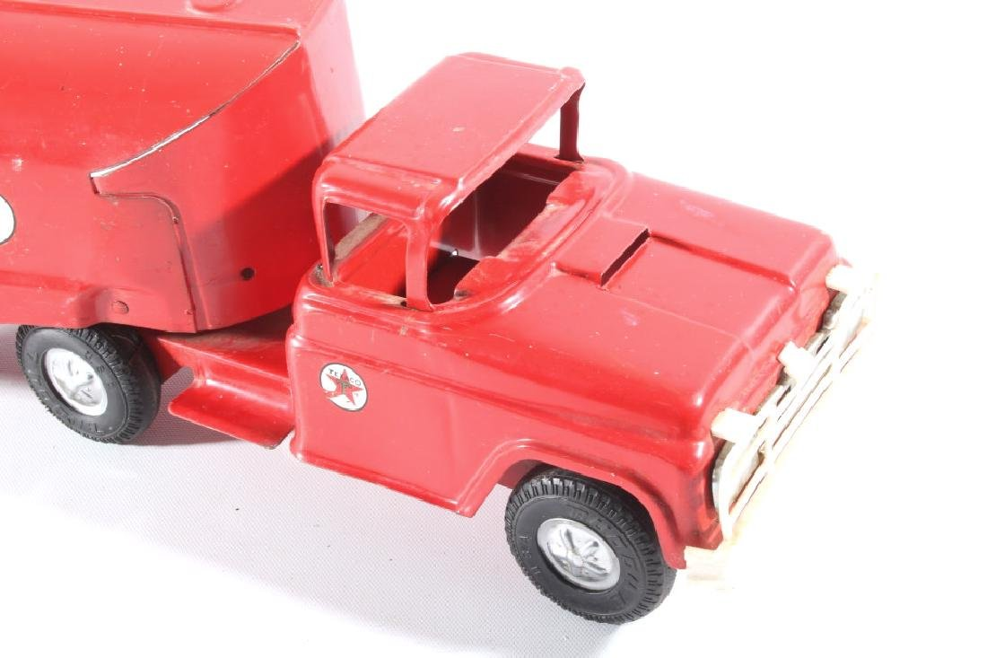 Buddy L Texaco Tanker Stamped Steel Toy Truck - 3