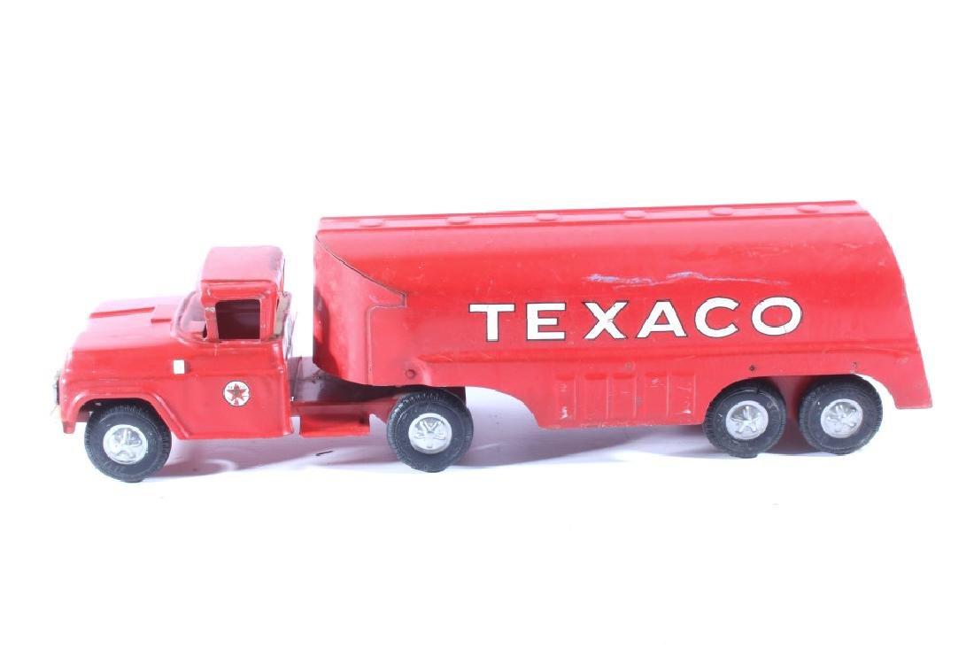 Buddy L Texaco Tanker Stamped Steel Toy Truck - 5