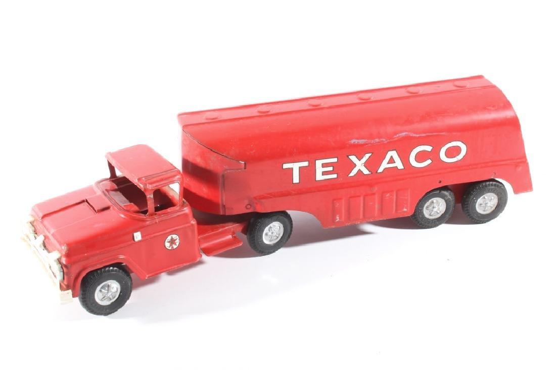 Buddy L Texaco Tanker Stamped Steel Toy Truck - 6
