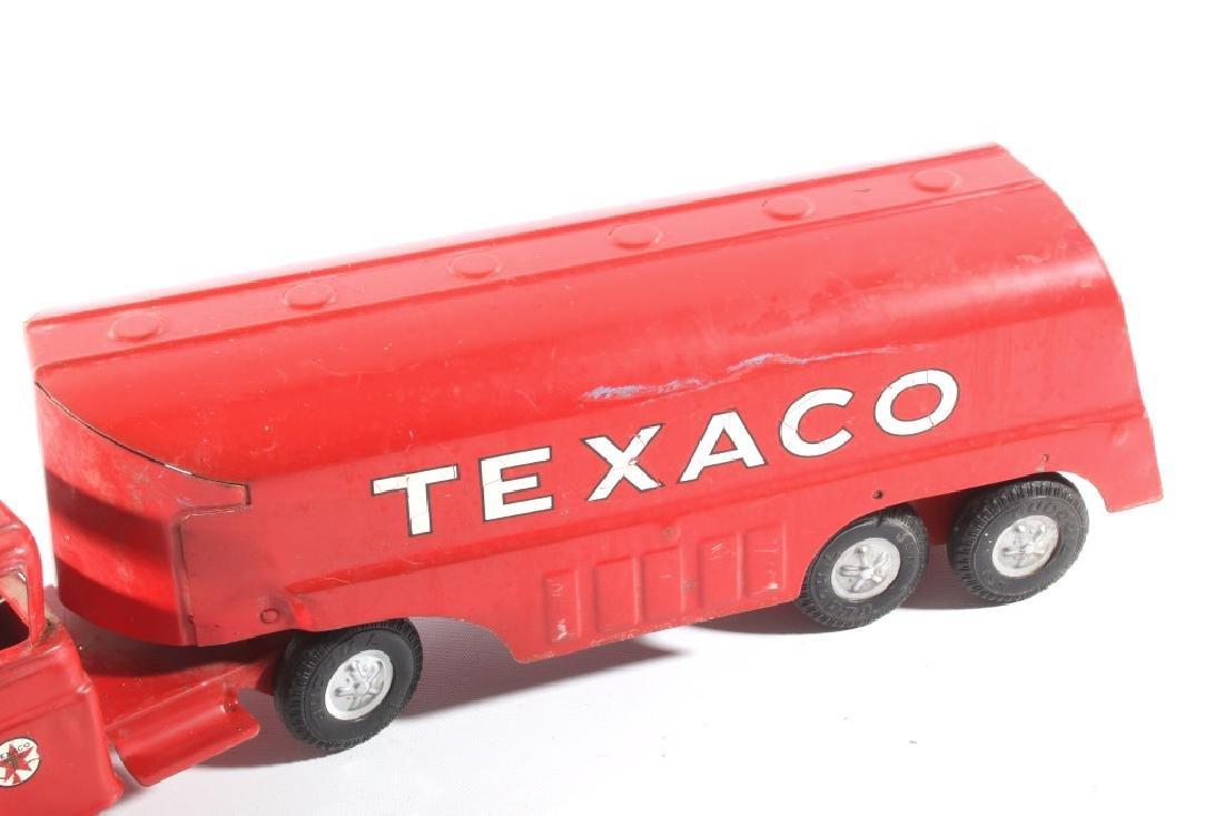 Buddy L Texaco Tanker Stamped Steel Toy Truck - 8
