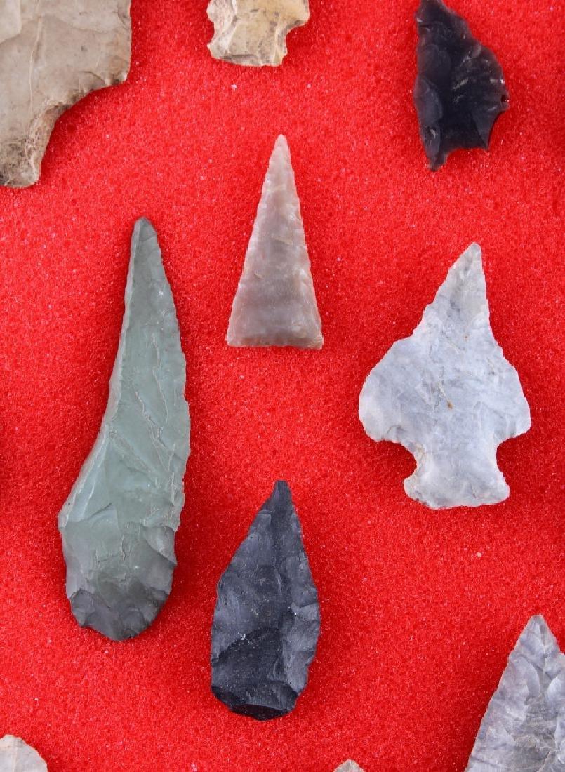 Native American Indian Arrowhead Collection - 10