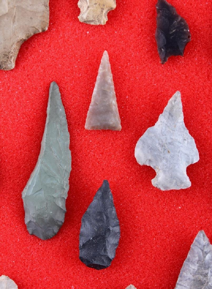 Native American Indian Arrowhead Collection - 10