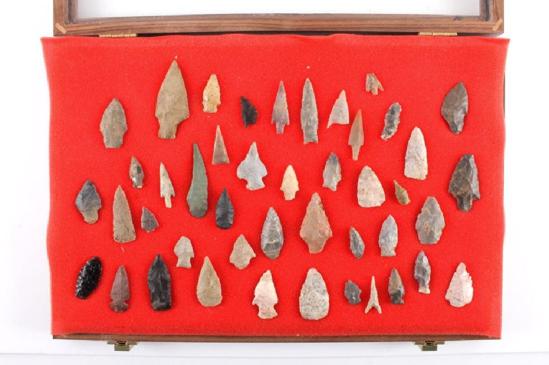 Native American Indian Arrowhead Collection