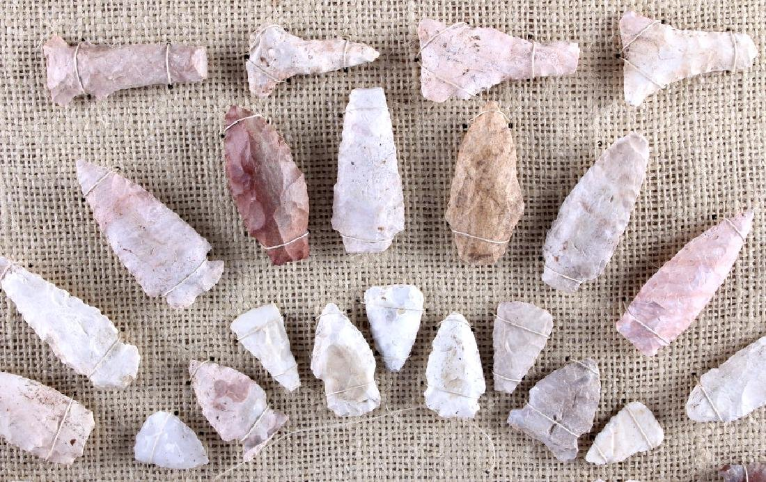 Native American Indian Arrowhead Collection - 8