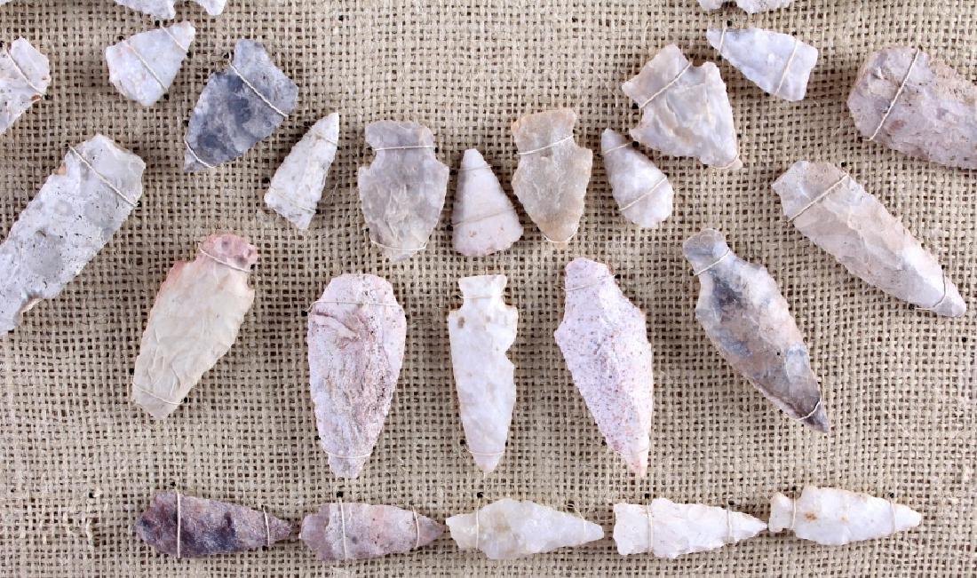 Native American Indian Arrowhead Collection - 9