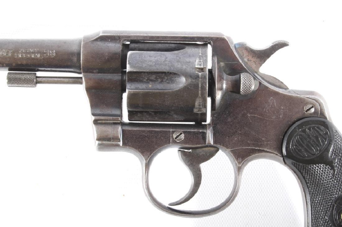 Colt Army Special .38 Cal DA Revolver 1912 - 7