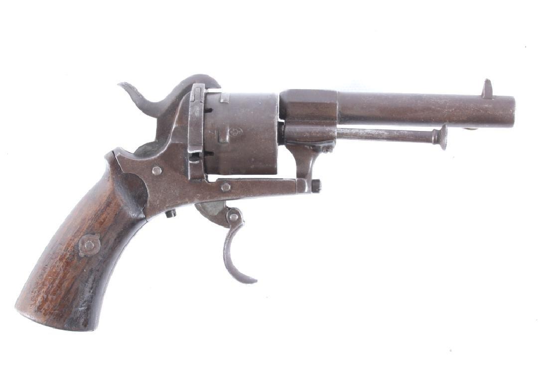 Belgium Proofed .32 Cal Pinfire Revolver