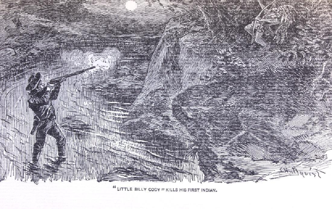 Last of the Great Scouts Buffalo Bill 1st Ed. 1899 - 10