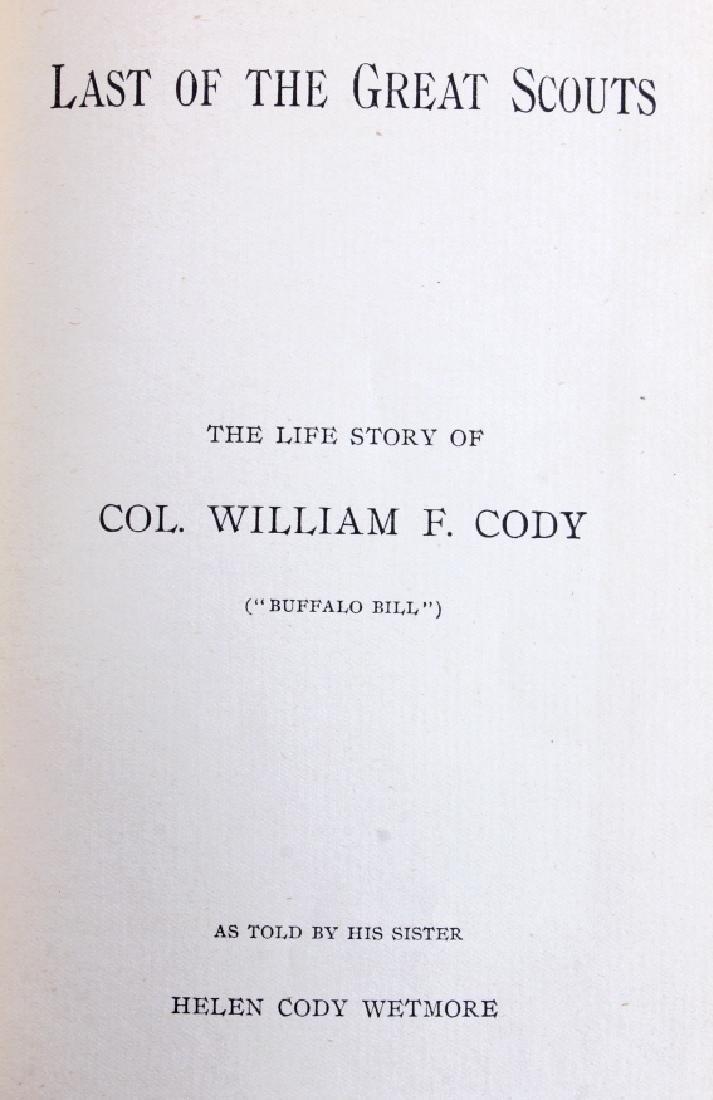 Last of the Great Scouts Buffalo Bill 1st Ed. 1899 - 3