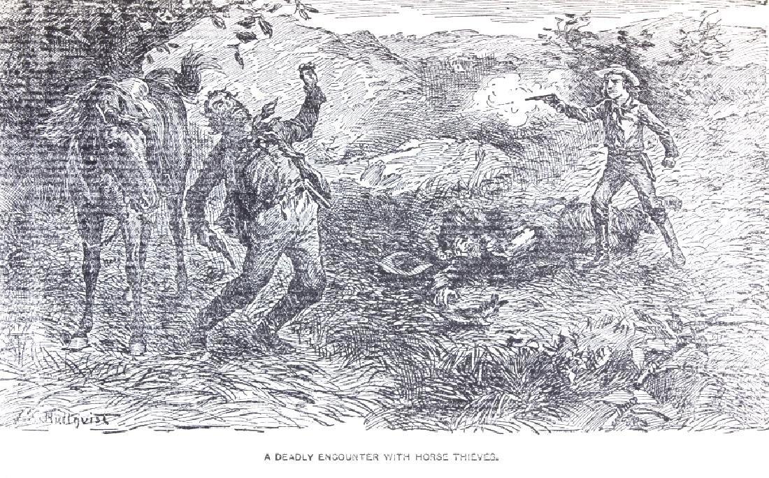 Last of the Great Scouts Buffalo Bill 1st Ed. 1899 - 6