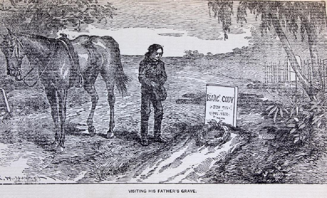 Last of the Great Scouts Buffalo Bill 1st Ed. 1899 - 7