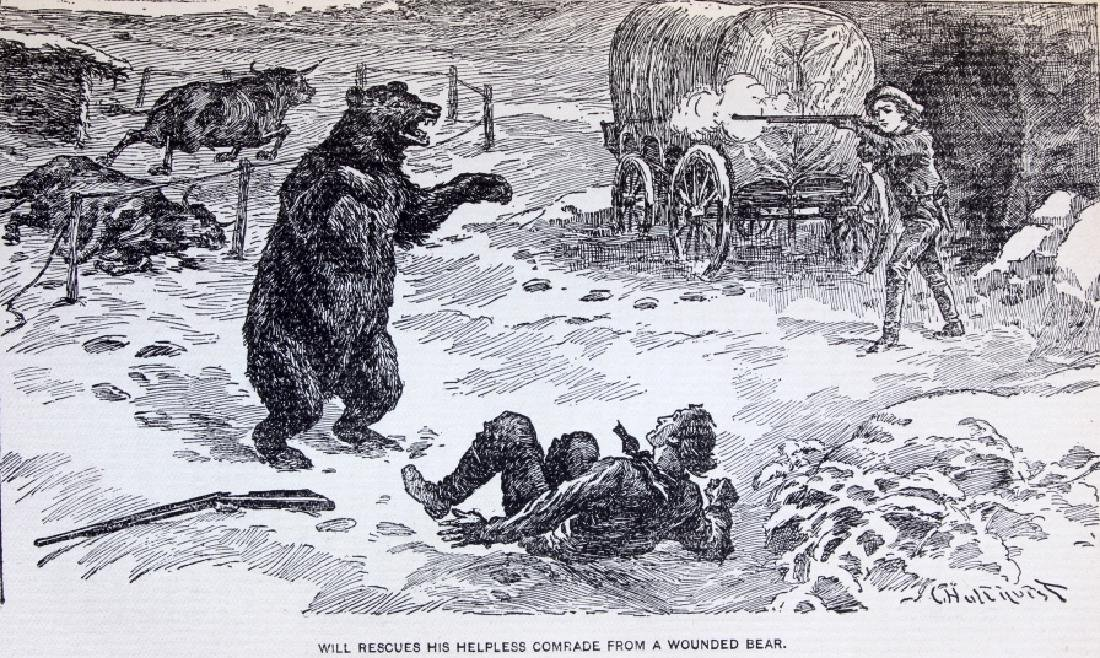 Last of the Great Scouts Buffalo Bill 1st Ed. 1899 - 8