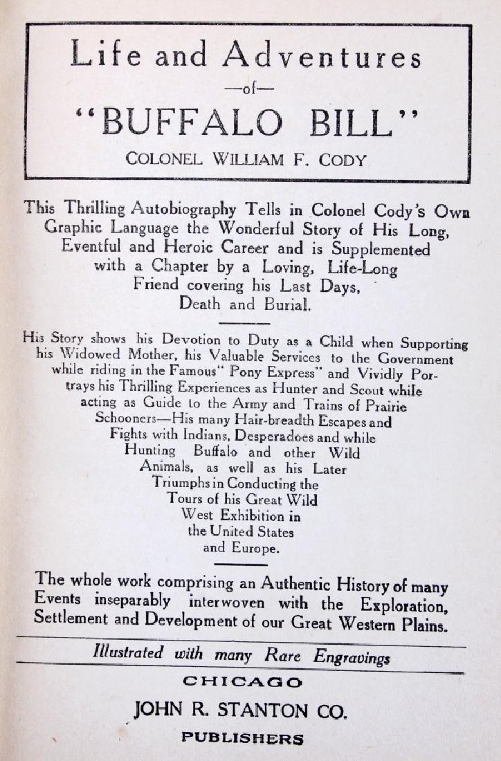 Life and Adventures of Buffalo Bill First Edition - 3