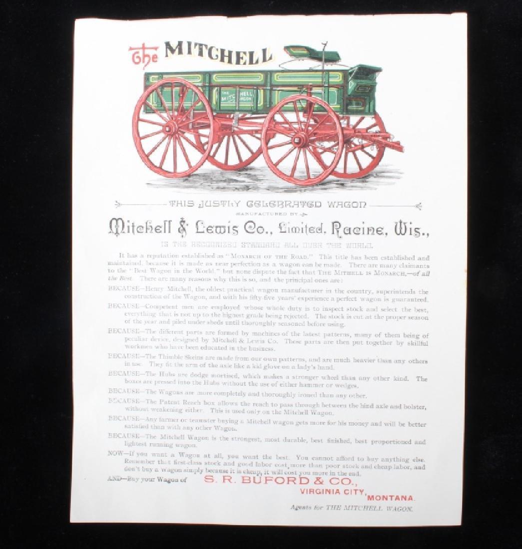 Mitchell & Lewis Co. Virginia City, MT Ephemera - 2