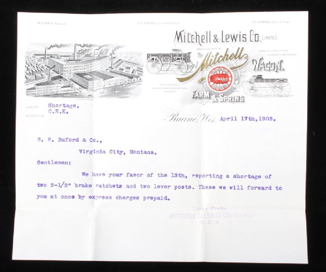 Mitchell & Lewis Co. Virginia City, MT Ephemera - 4