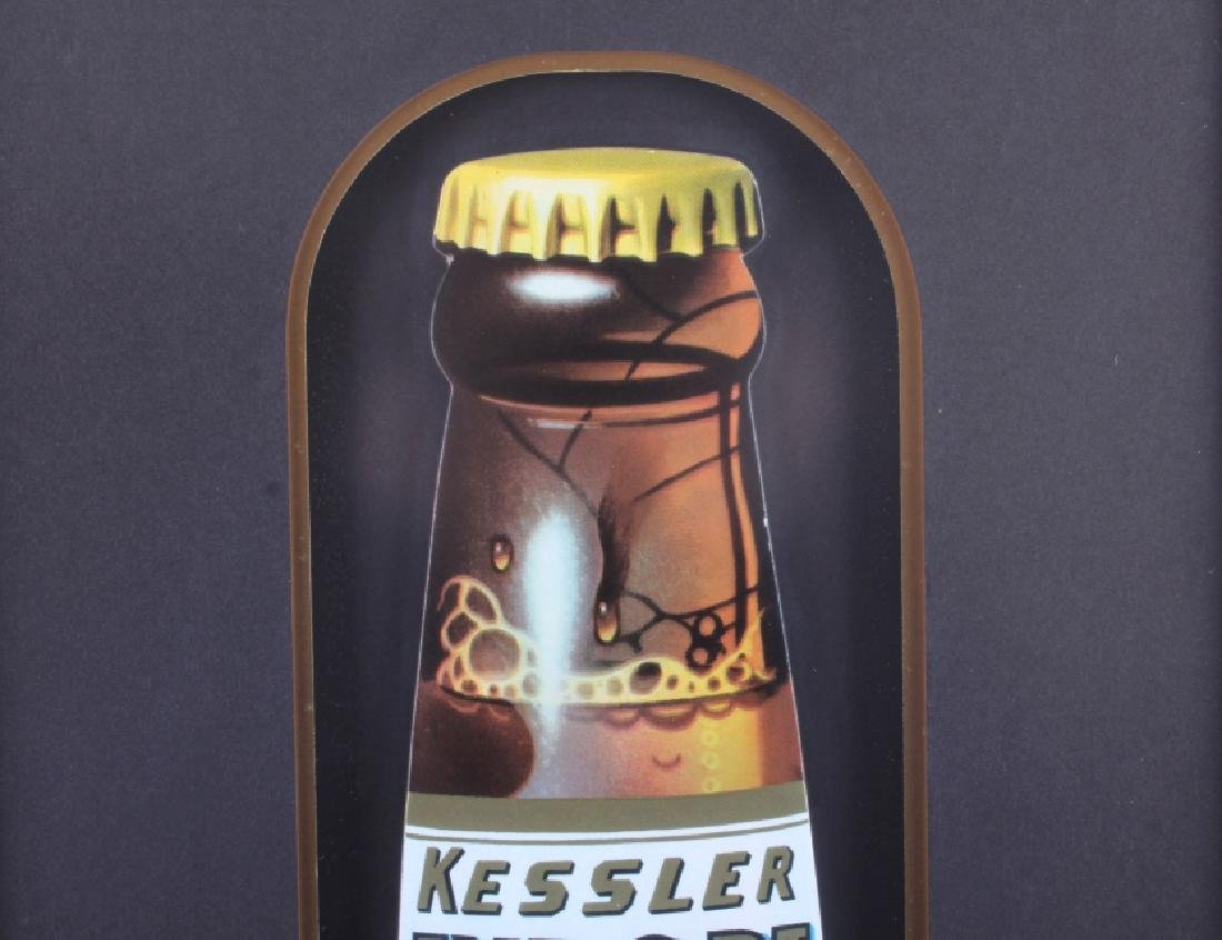 Original Kessler Beer Advertising Sign Montana - 8