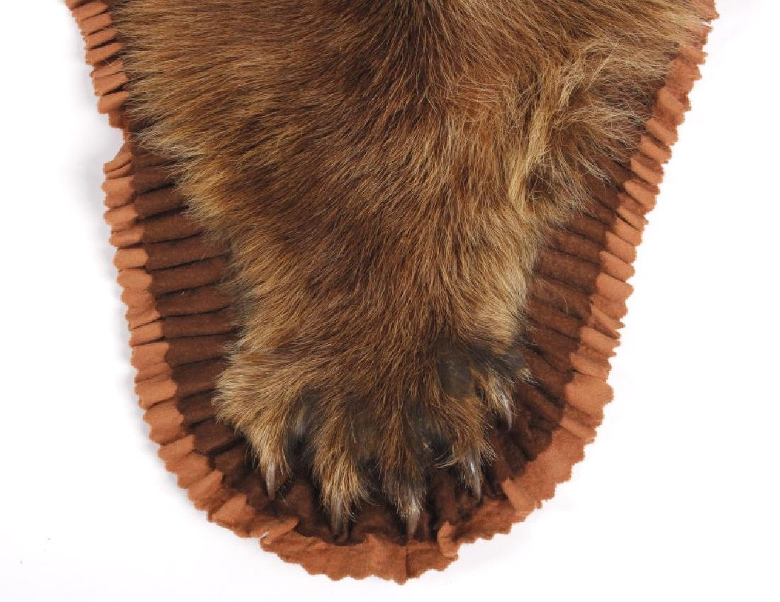 Montana Cinnamon Black Bear Taxidermy Trophy Rug - 3