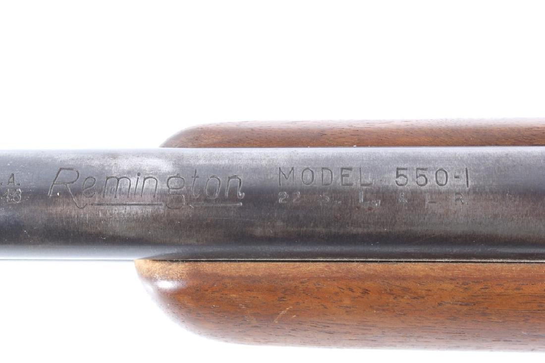 Remington Model 550-I .22 LR Rifle w/Scope 1955 - 12