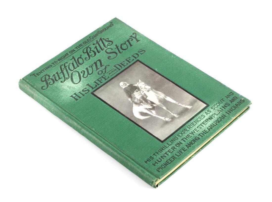 Buffalo Bill's Own Story Salesman Sample 1917