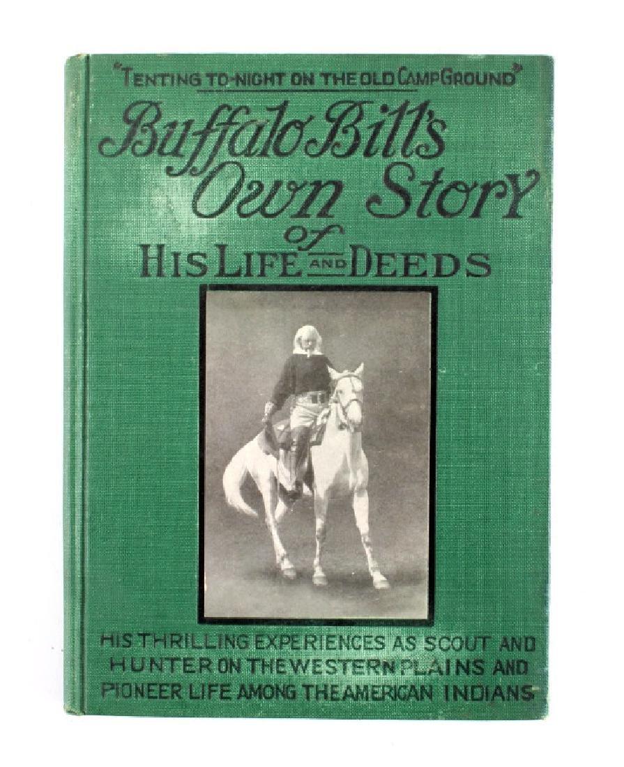 Buffalo Bill's Own Story Salesman Sample 1917 - 2