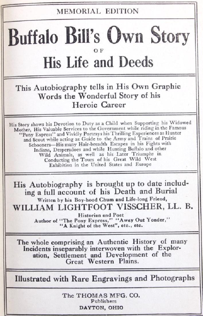 Buffalo Bill's Own Story Salesman Sample 1917 - 4