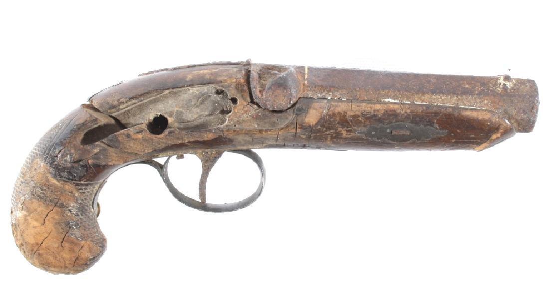 Civil War Lullman & Vienna .45 Octagon Derringer