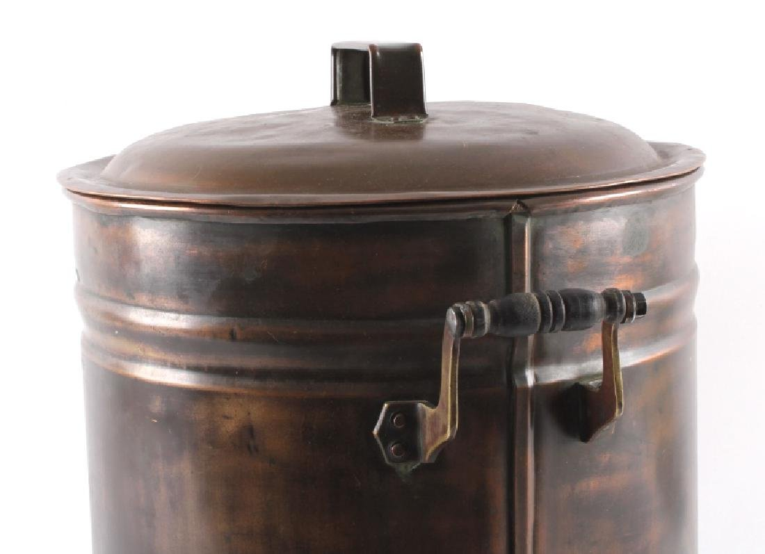 Antique Copper Water Cooler - 11