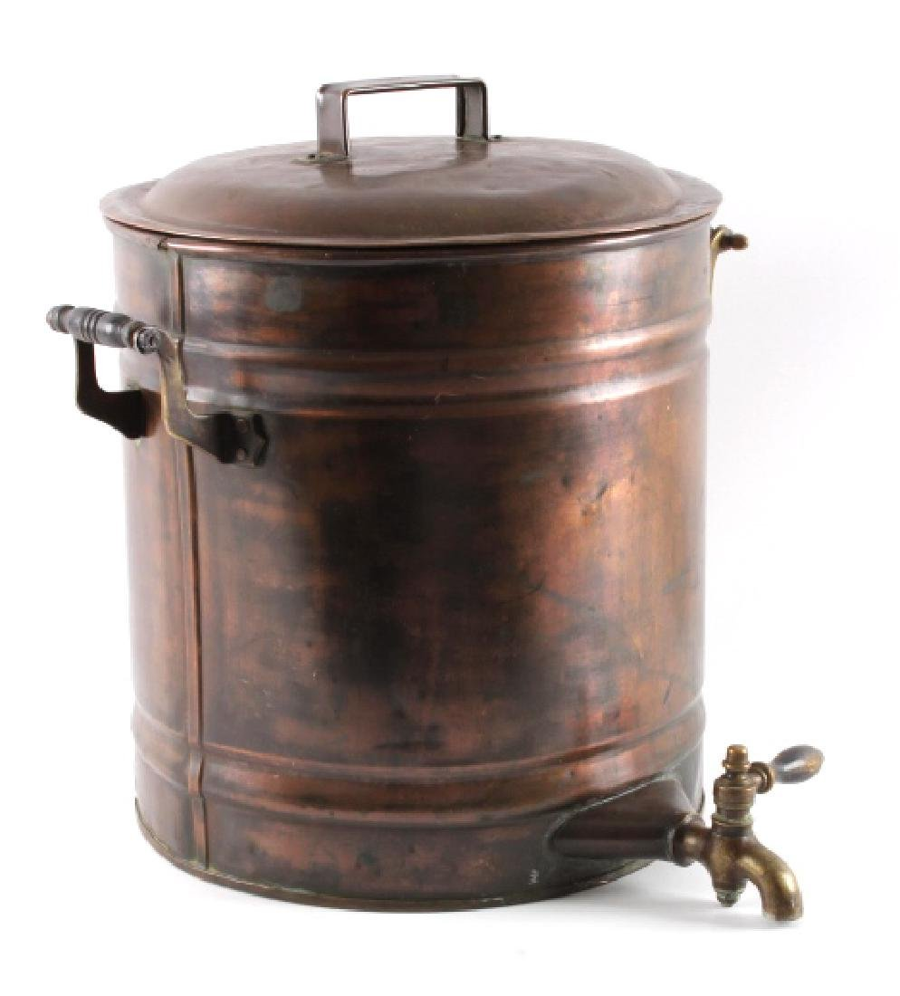 Antique Copper Water Cooler