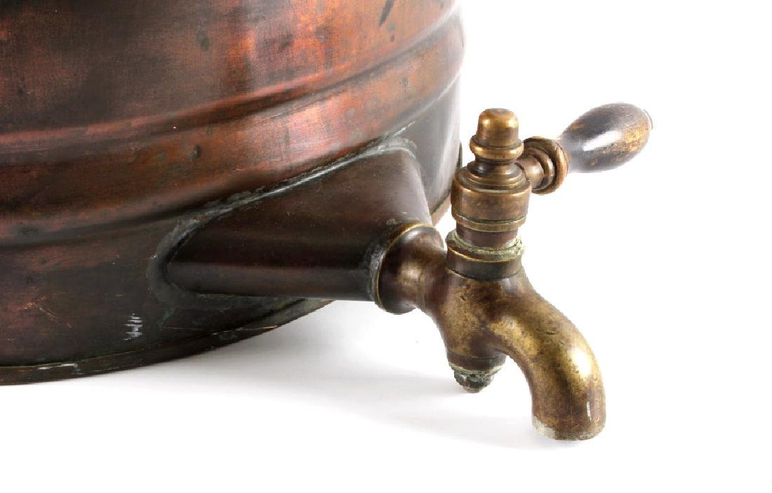 Antique Copper Water Cooler - 4