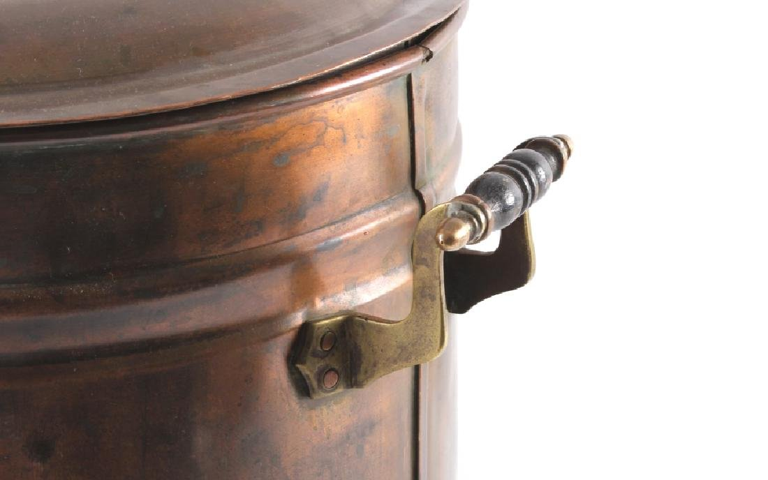 Antique Copper Water Cooler - 8