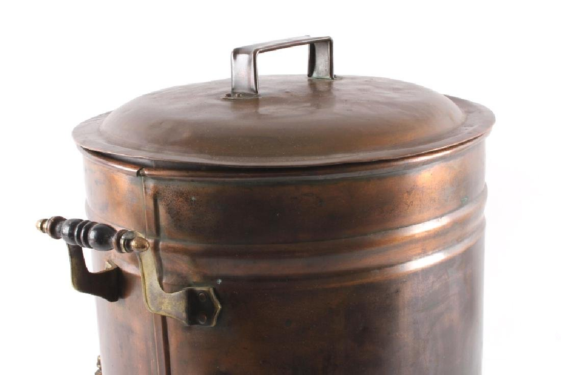 Antique Copper Water Cooler - 9