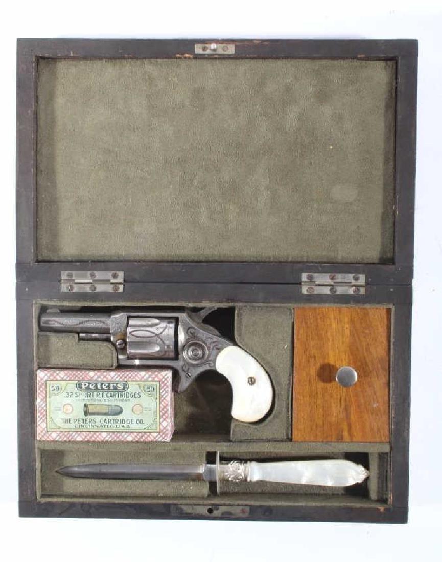 Antique Montana Gamblers Saloon Lock Box