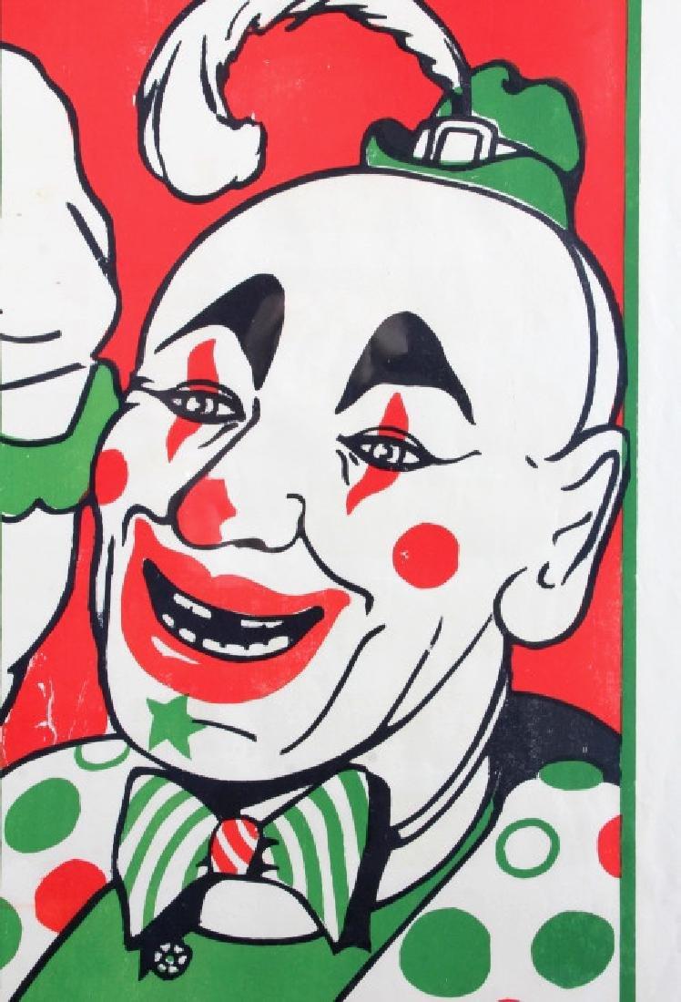 Original John Hall Wild Animal Circus Poster - 6