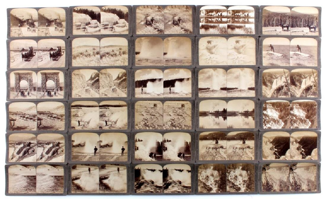 Yellowstone National Park Stereoview Set c.1904 - 2