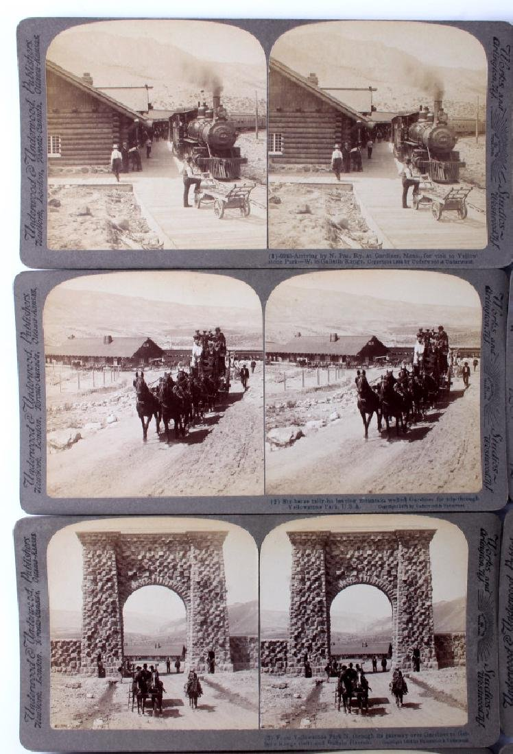 Yellowstone National Park Stereoview Set c.1904 - 3