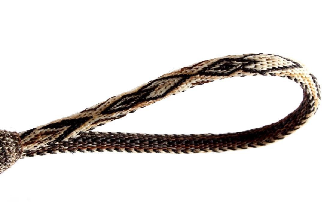 Deer Lodge Montana Prison Horsehair Quirt - 6