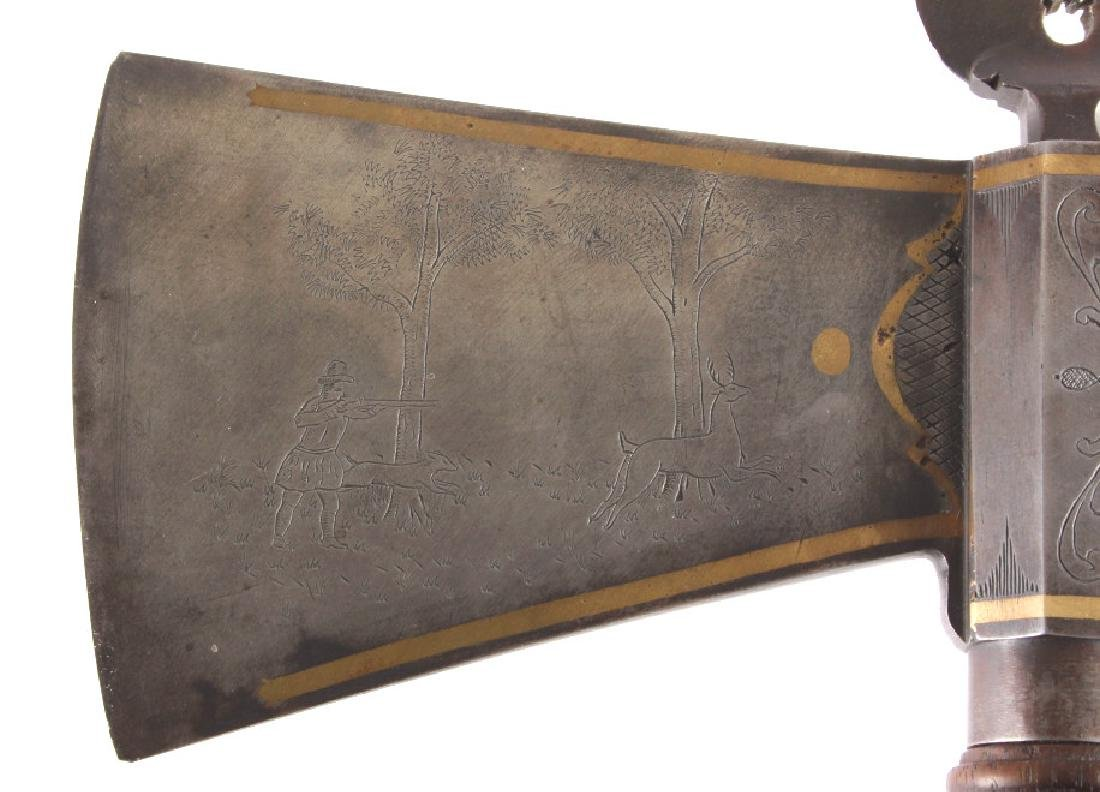Great Lakes Museum Presentation Pipe Tomahawk - 6