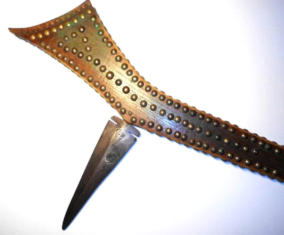 Sioux Gunstock War Club from Jack Red Cloud 19th C - 3