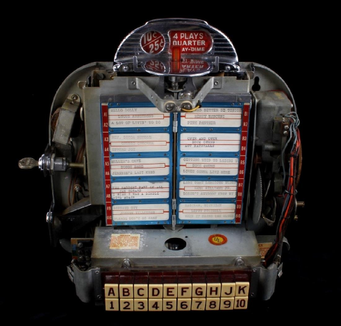 Seeburg 100 Wall-O-Matic 3W-1 Juke Box 1950's - 10