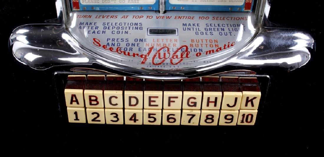 Seeburg 100 Wall-O-Matic 3W-1 Juke Box 1950's - 2