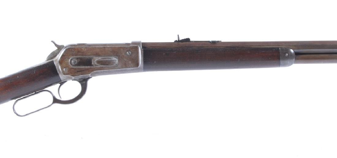 Very Early Winchester Model 1886 .38-56 Rifle 1887 - 3