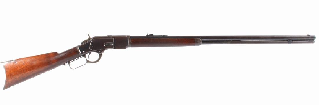 """Superb Winchester Model 1873 .32-20 28"""" Rifle 1886"""